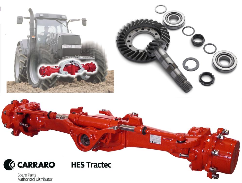 Carraro Axle Parts Case Mccormick Hes Tractec