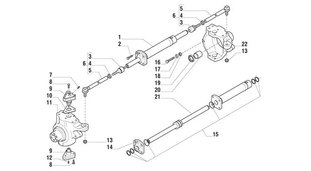 Carraro Axle Drawing for 125342, page 5