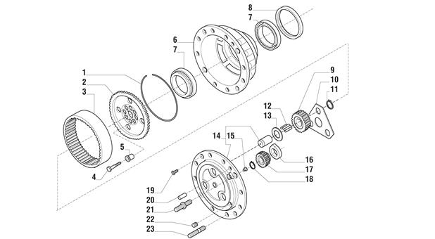 Carraro Axle Drawing for 125342, page 9