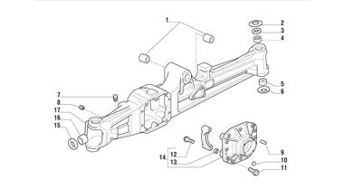 Carraro Axle Drawing for 125847, page 2