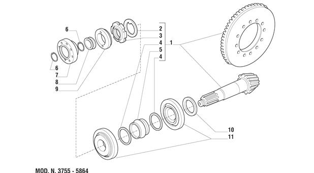 Carraro Axle Drawing for 125969, page 5
