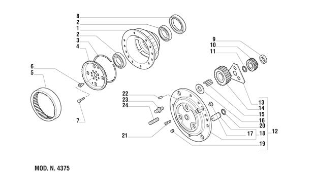 Carraro Axle Drawing for 126139, page 7